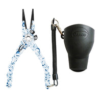 Danco Admiral Aluminum Fishing Pliers (Water Droplets) JB Tackle