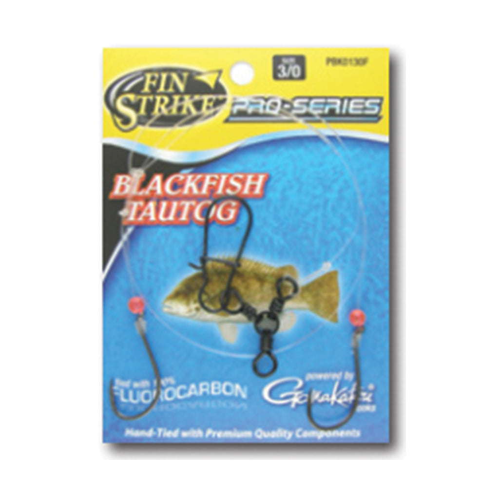 Fin Strike Blackfish (Tautog) Pro Series Rigs Tied with 100% Flourocarbon