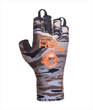 Fish Monkey FM29 BackCountry II Insulated Half Finger Guide Glove