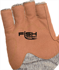 Fish Monkey FM30 Wooly Half Finger Wool Fishing Glove