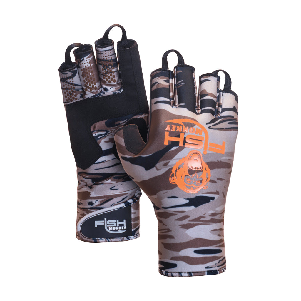 Fish Monkey BackCountry Insulated Half Finger Guide Glove JB Tackle