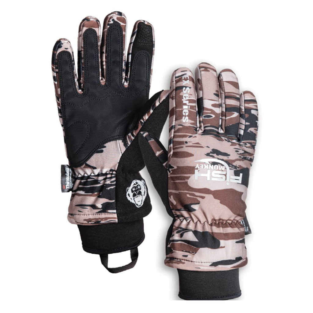 Fish Monkey Tundra EX Series Water Proof Premium Insulated Full Finger Fishing Glove