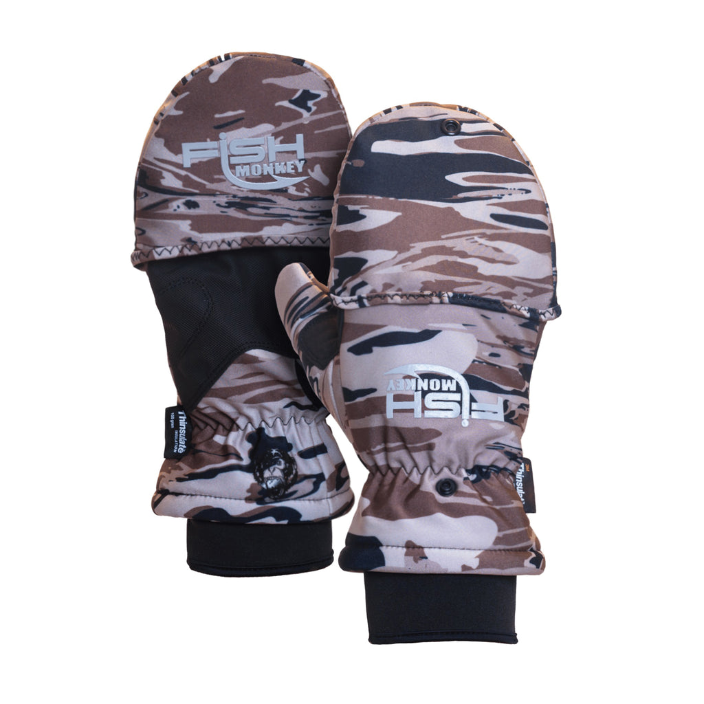 Fish Monkey Tundra Premium Insulated Mitten Fishing Glove