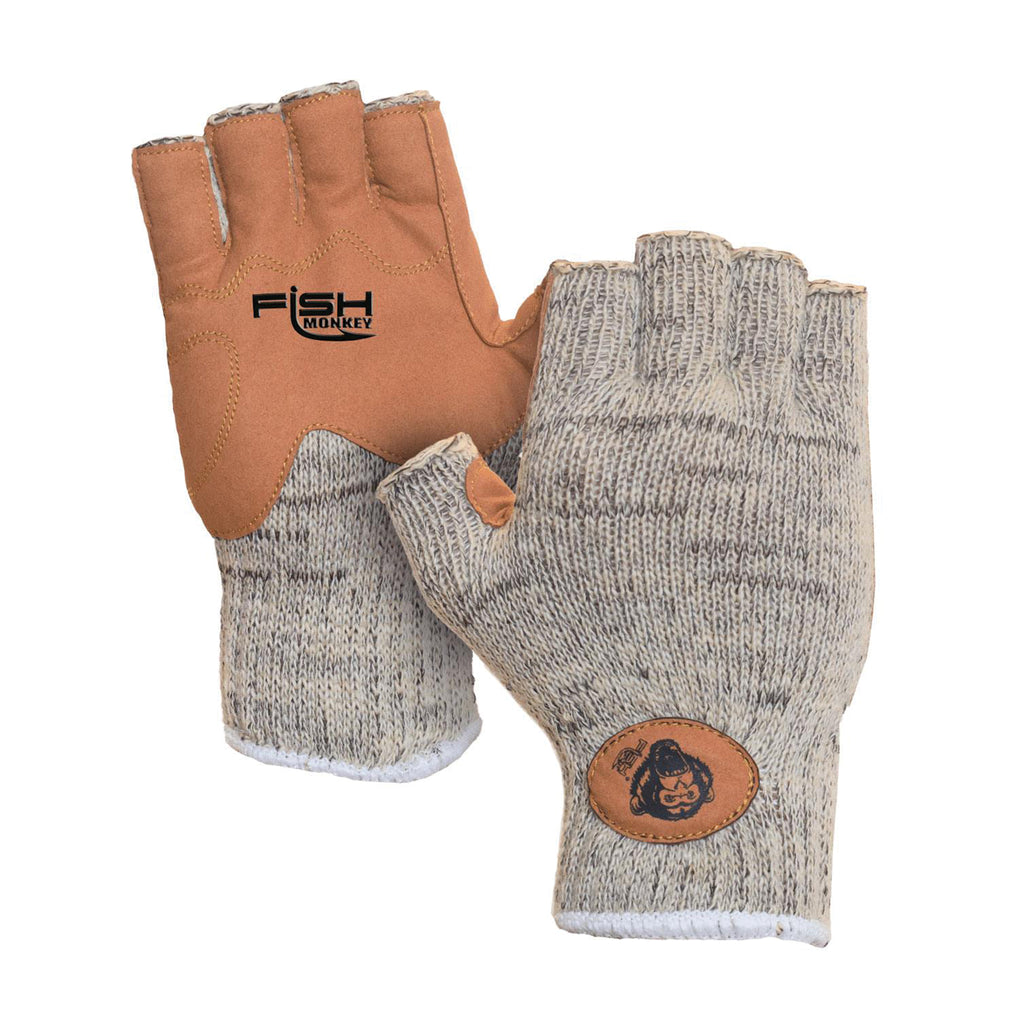 Fish Monkey Wooly Half Finger Wool Fishing Glove