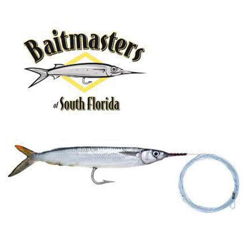 Baitmasters of South Florida Pre-Rigged Frozen Ballyhoo Bait JB Tackle