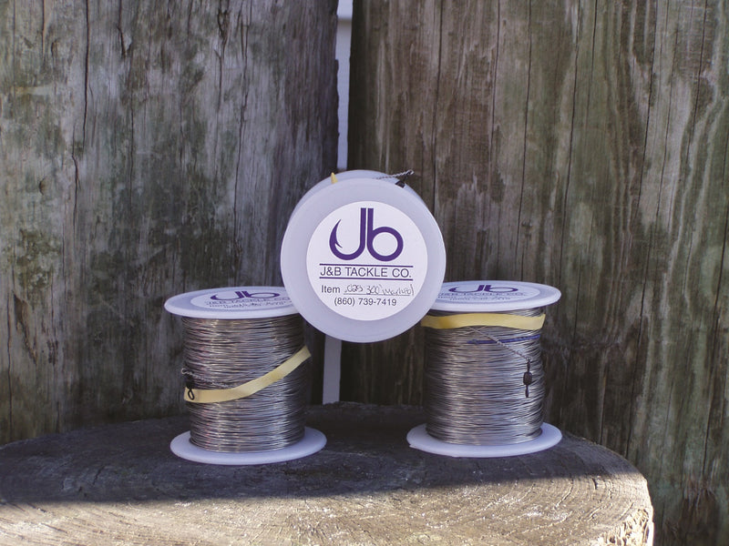 J&B Custom Tackle Marked Stainless Steel Trolling Wire