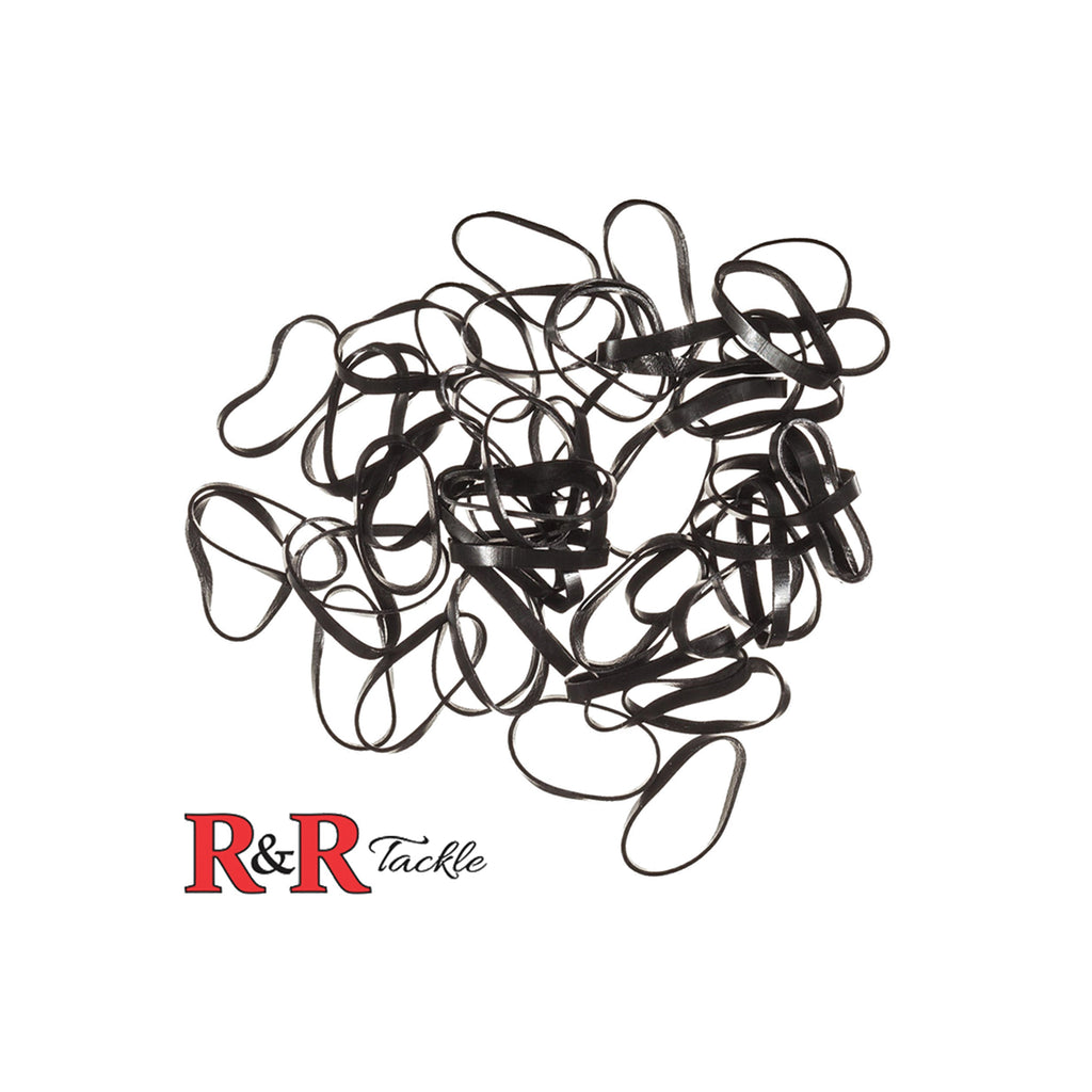 R&R Tackle Black Rigging Bands