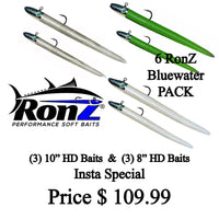 RonZ Lures Bluewater 6-Pack
