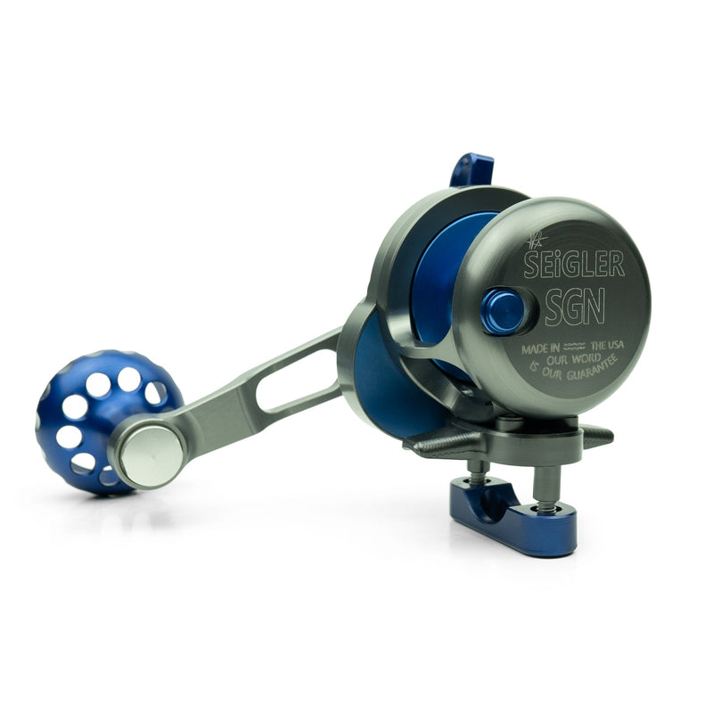 Seigler Reels SGN (Small Game Narrow) Lever Drag