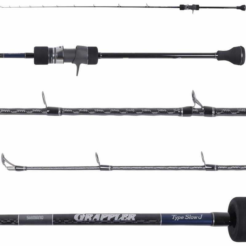 Shimano Rods Grappler Type Slow J Slow Pitch Jigging