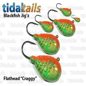 "TidalTails ""Craggy"" Blackfish Jigz"