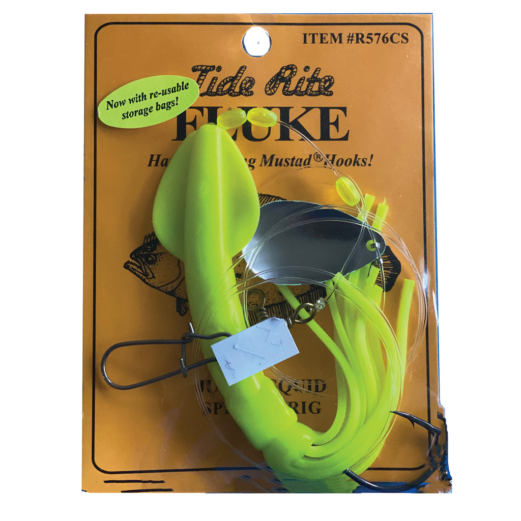 Tide Rite R576 Squid Spinner Fluke Rig