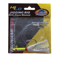 Tsunami HiLo Jigging Rig with Glass Minnow