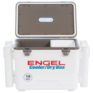 Engel Drybox/Cooler w/ Rod Holders