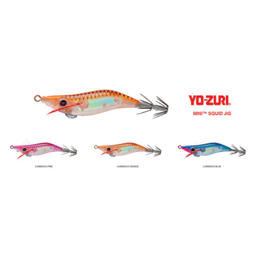 Yo-Zuri Mini Floating Squid Jig A1696