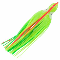 Boone 4.25in Squid Skirt (Chartreuse) JB Tackle