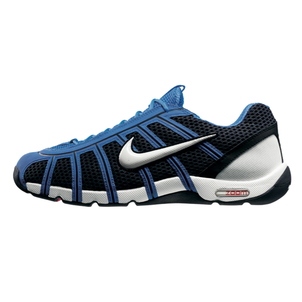 Nike Air Zoom Fencer OBSIDIAN WHITE LIGHT BLUE Fencing Shoes