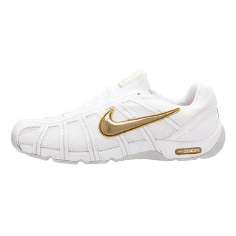 Nike Air Zoom Fencer WHITE-GOLD Limited edition - Fencing Shoes