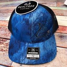 Load image into Gallery viewer, Cap-Realtree Fishing Blue & Navy