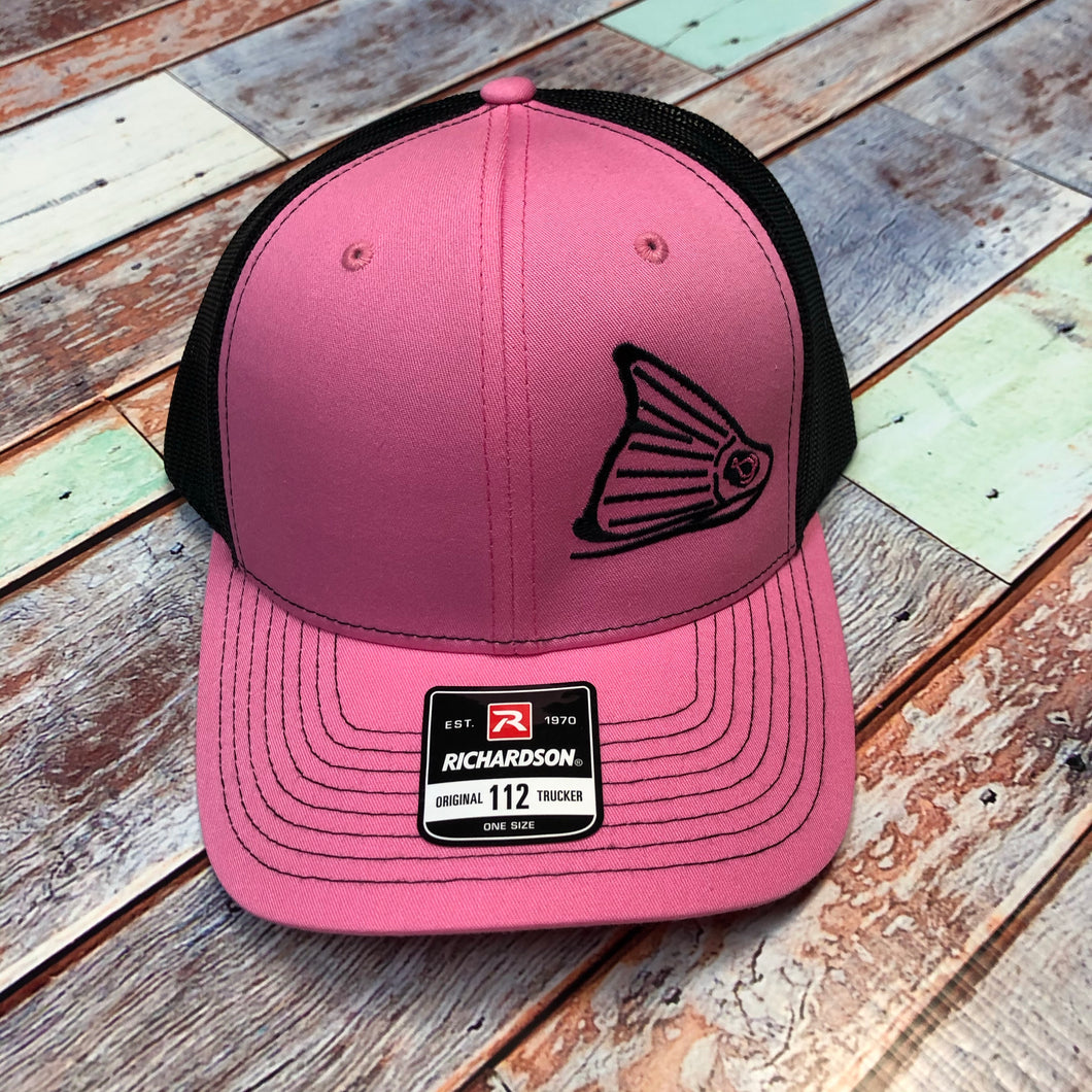 Cap-Hot Pink & Black