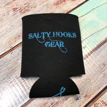 Load image into Gallery viewer, Koozie - Black/Teal