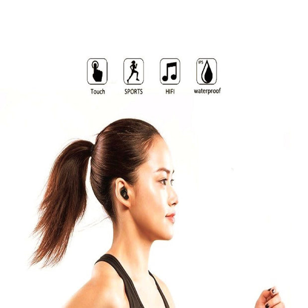 K-Tronics KT Touch Two Earbuds