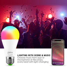 Load image into Gallery viewer, Wireless Bluetooth Smart Bulb Home Lighting Lamp Change Color