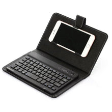 Load image into Gallery viewer, Wireless Bluetooth Keyboard With Leather