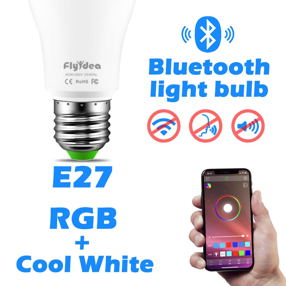 Wireless Bluetooth Smart Bulb Home Lighting Lamp Change Color
