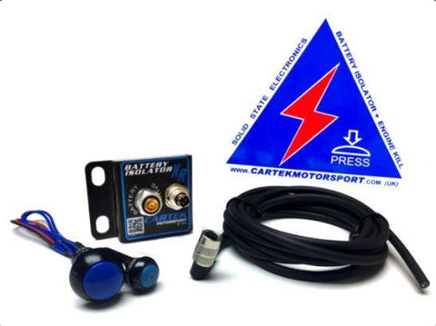 CARTEK Battery Isolator XR Kit
