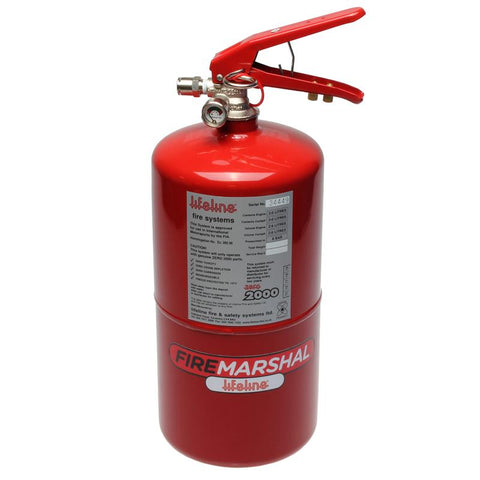 LIFELINE Zero 2000 FIA 4.0 ltr Fire Marshall Mechanical - Steel Cylinder Bottle