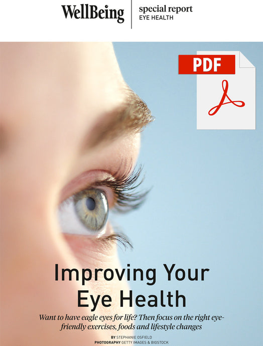 Special Report: Improving Your Eye Health