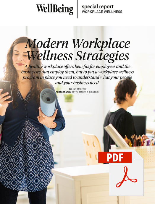 Special Report: Modern Workplace Wellness Strategies