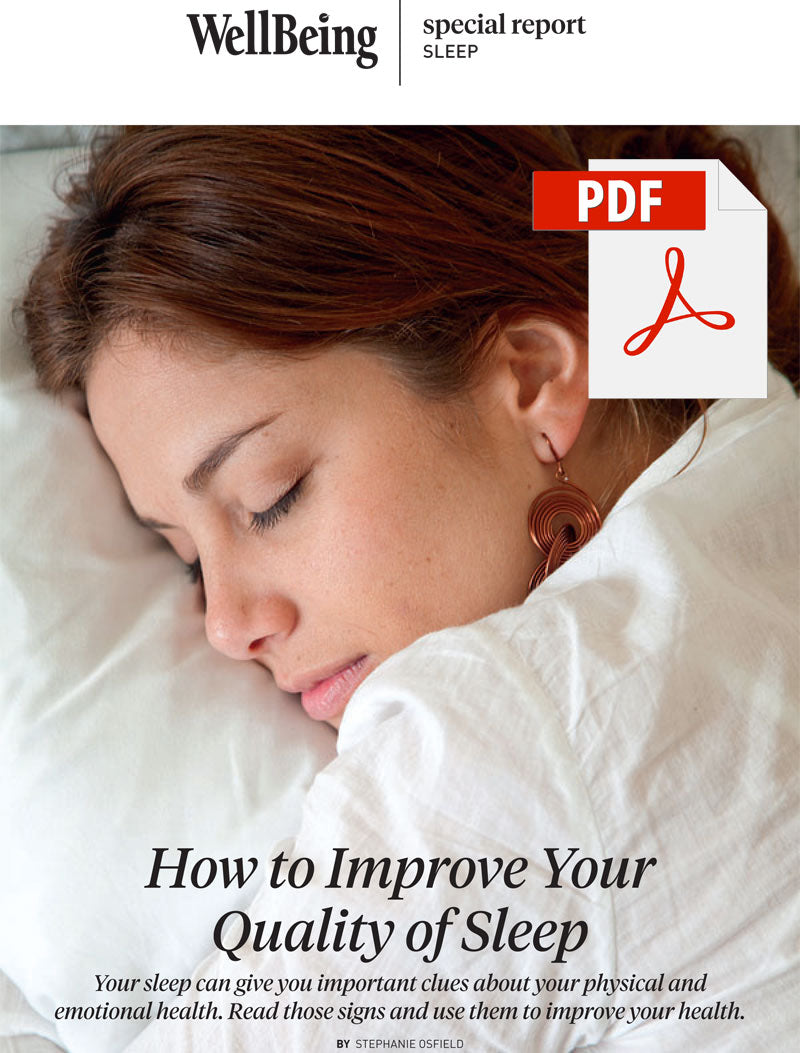 Special Report: How to Improve Your Quality of Sleep