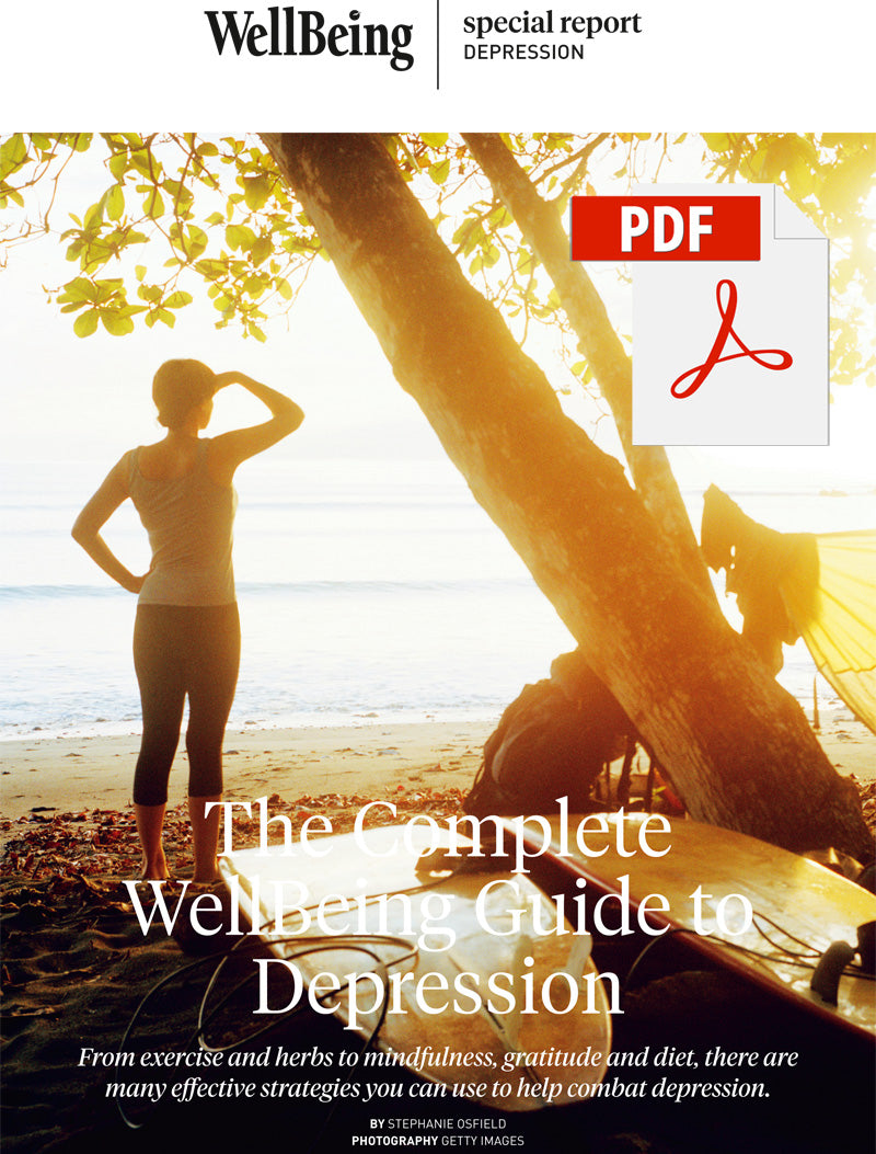 Special Report: The Complete WellBeing Guide to Depression