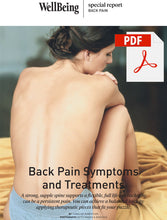 Load image into Gallery viewer, Special Report: Back Pain Symptoms and Treatments