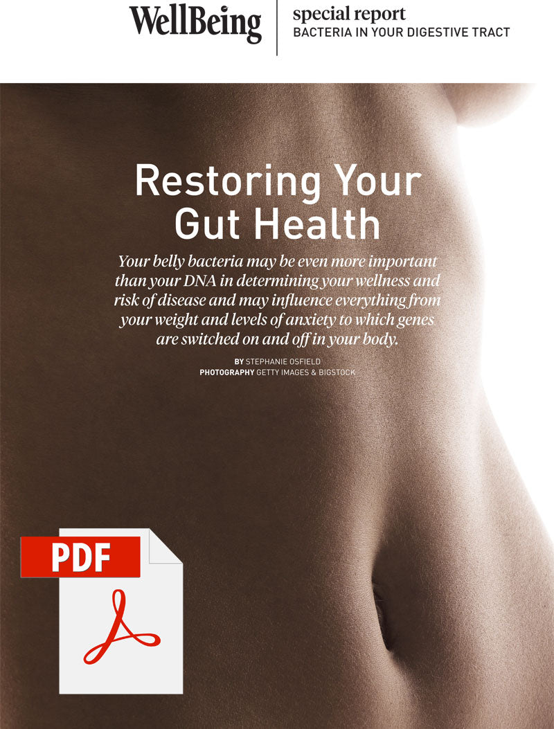 Special Report: Restoring Your Gut Health