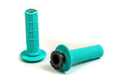 Defy Lock On Grips - Mint - MX