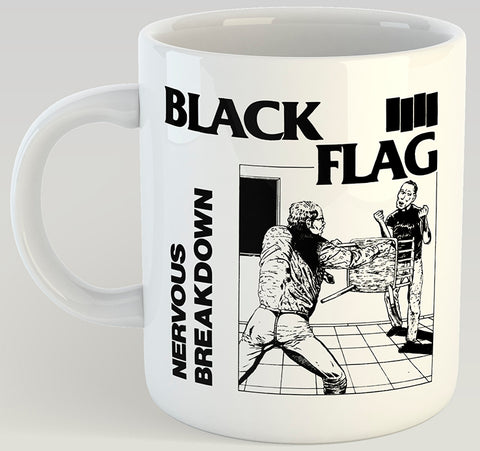 Black Flag Nervous Breakdown 11oz Coffee Mug