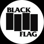 Black Flag Slipmat (White)