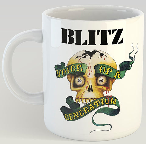 Blitz Voice of a Generation 11oz Coffee Mug