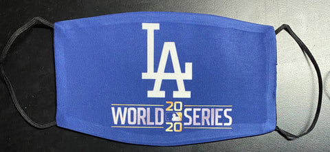 Dodgers World Series 2020 Face Mask (Blue)