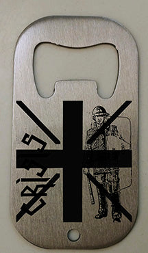 Crisis UK 79 Bottle Opener