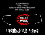 Depeche Mode Master and Servant Face Mask