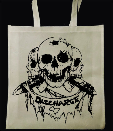 Discharge Born To Die Tote Bag