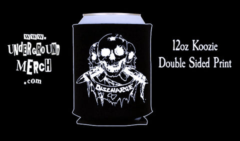 Discharge Price of Silence 12oz Koozie