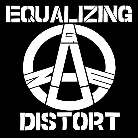 Gauze Equalizing Distort Flag (Black)