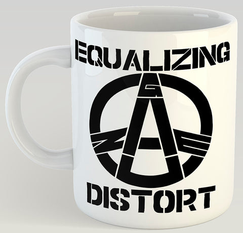 Gauze Equalizing Distort 11oz Coffee Mug