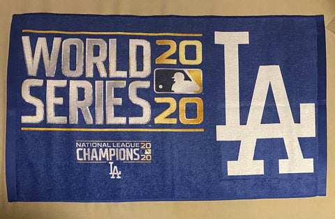 Dodgers World Series Towel