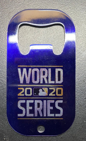 Dodgers World Series 2020 Bottle Opener